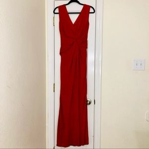 Escada Burnt Orange Evening Gown | Womans Size 34